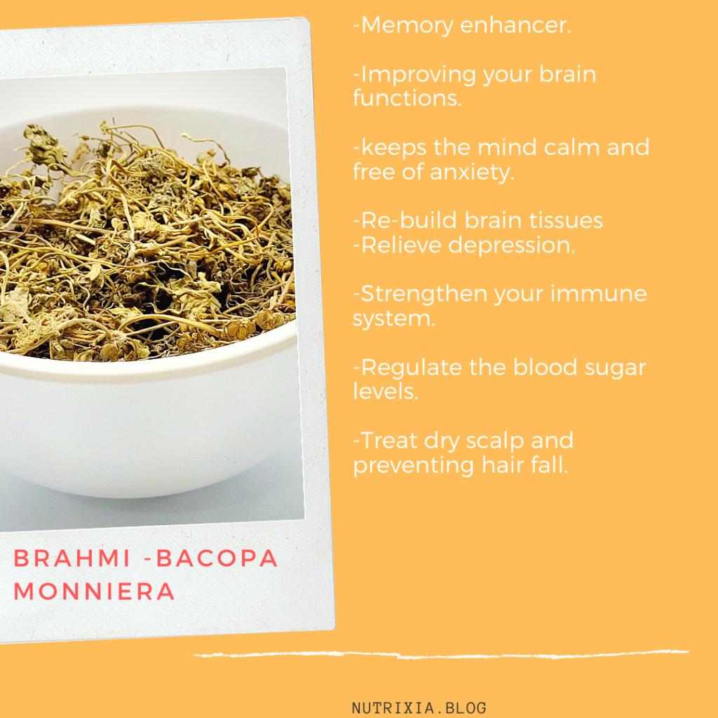 Nutrixia Food -Brahmi